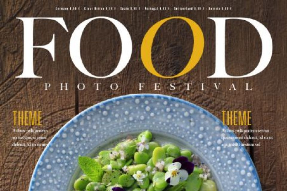 FOODPHOTO FESTIVAL COVER ART