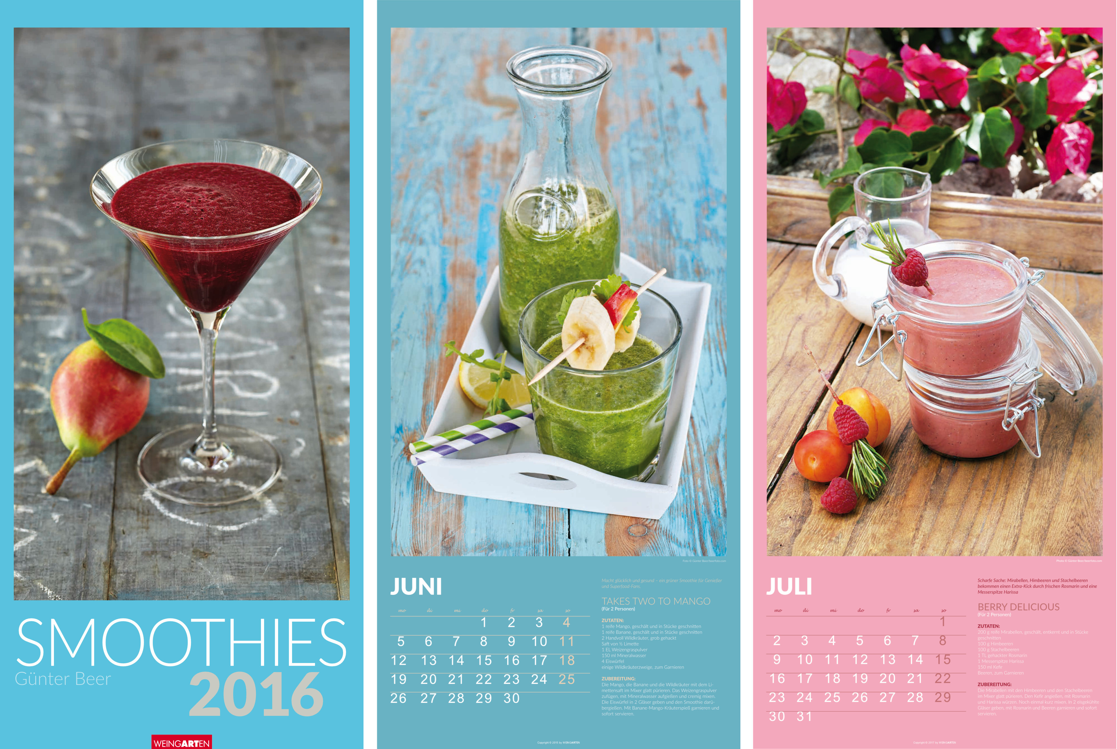 Smoothies Calender for Weingarten